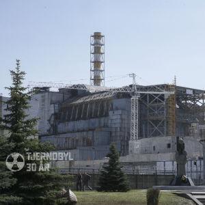 Reaktorn i Tjernobyl.
