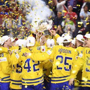 Sveriges spelare med VM-bucklan, VM 2017.