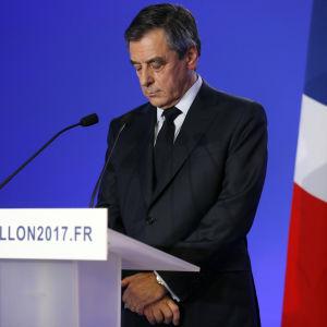 Den franske presidentkandidaten François Fillon