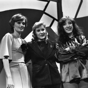 Taiska ja taustalaulajat Irina Milan sekä Muska Babitzin voittivat Interviisukarsinnan 1978