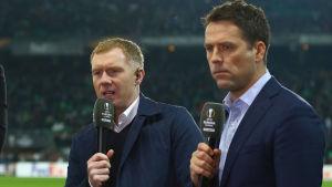 Paul Scholes och Michael Owen.