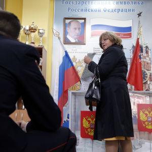 Val till statsduman i Ryssland.