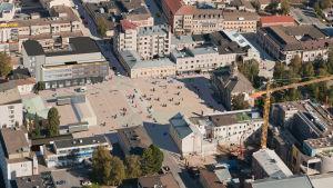 Såhär ska torget i Jakobstad se ut.