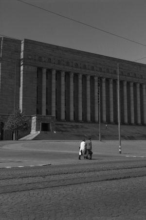 Riksdagshuset, 1945