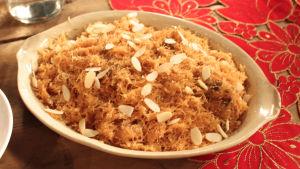 Intialainen vermisellijälkiruoka.