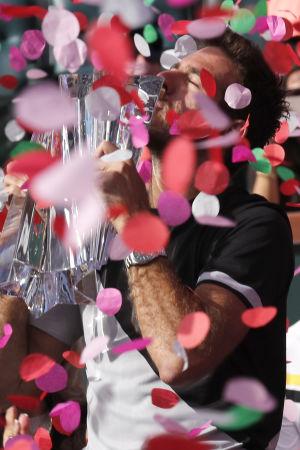 Juan Martin Del Potro vann i Indian Wells.