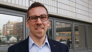 Jan-Mikael wikström ombudsman på Finlands svenska Lärarförbund