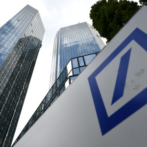 Deutsche Banks huvudkontor i  Frankfurt am Main.