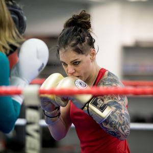 Boxaren Eva Wahlström