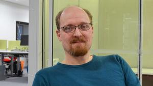Bernt Nordman, viceordförande för utbildningsnämndens svenska sektion i Helsingfors.