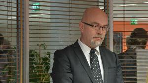 Rektor Tauno Kekäle vid Vasa yrkeshögskola