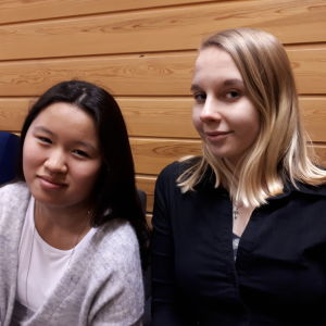 yoanna rönnqvist och mira bäck