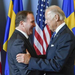 Stefan Löfven och Joe Biden