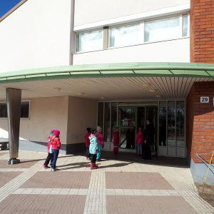 Kyrkoby skola i Pedersöre