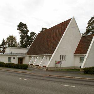 Dragnäsbäck kyrka.