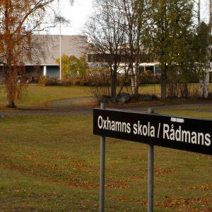 Oxhamns skola/Rådmans.