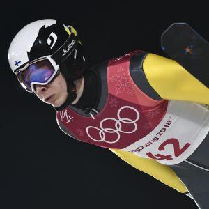 Eero Hirvonen är bäst i det finska laget.