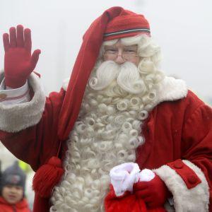 Finska julgubben på tur.