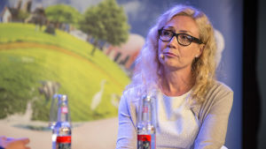 Anneli Auer på Suomi-areena 2016.