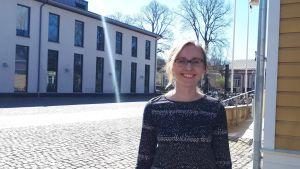 Hanna Lindberg utanför Arken.