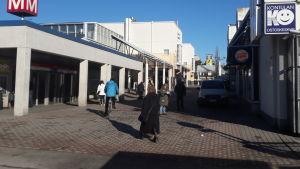 Gårdsbacka i Helsingfors.