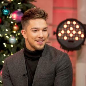 Matt Terry, finalist i brittiska sångtävlingen X Factor.