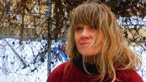 Sonja Ahlfors utomhus