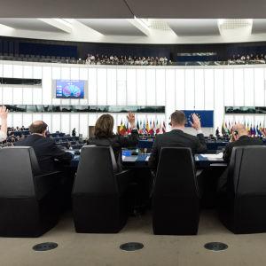 Äänestys EU-parlamentissa