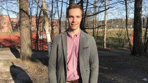 Oscar Björklund.