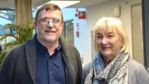Reijo Grönfors och Birgitta Hasselblatt