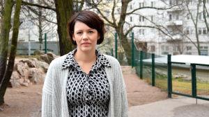 Pia Sundell, verksamhetsledare för barnavårdsföreningen i Finland.