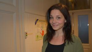 Cecilia Flygar jobbar på Ungdomsstationen Klaara i Vasa.