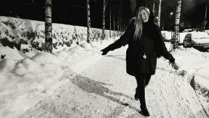 Den finlandssvenska singer-songwritern Ida Engman