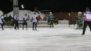 Bandymatchen Akilles-Kampparit 24.2.2016 i Borgå