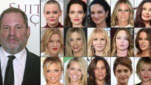 Harvey Weinstein anklagas för sexbrott
