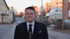 Rektor Bernt Klockars