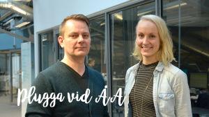 Peter Nynäs och Vaula Meisalmi