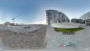 Ett misslyckat panoramafoto från Gräsviken.