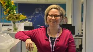 Heidi Hintermayer ställer upp som doula