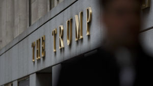 The Trump Building i New York.