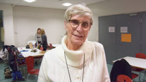 Harriet Lindroth övar trollkarlen från oz i januari 2016