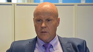 Antti Palola, ordförande för Tjänstemannacentralen STTK