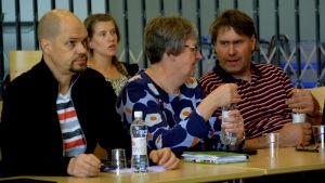 Kristian Willner och Thérése Meriheinä inför stadsdirektörsvalet i Lovisa