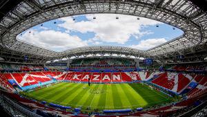VM-arenan i Kazan är redo.