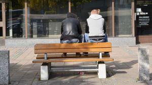 Ungdomar på stan