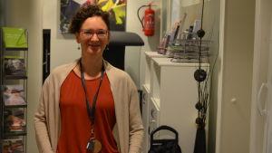 Sophie Holm på Helsingfors mission