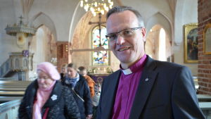 Tapio Luoma är biskop i Esbo stift