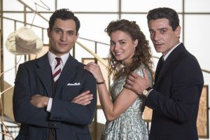 Vittorio (Alessandro Tersigni), Teresa (Giusy Buscemi) ja Pietro Mori (Giuseppe Zeno)