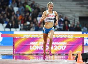 Camilla Richardsson löper i VM