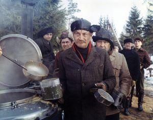 Ote elokuvasta Täällä Pohjantähden alla (1968).